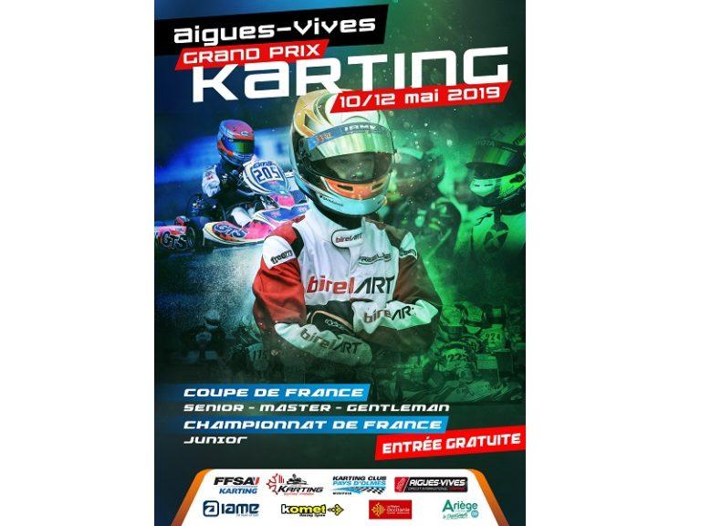 Championnat de France Karting - Junior - 2019