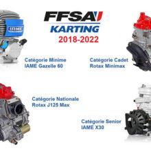 Motorisations FFSA Karting 2018-2022